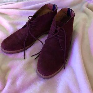 Tommy Hilfiger Velvet Shoes